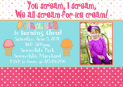 Image of Popsicle Party Invitation