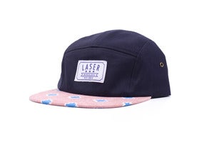 Image of Campamento 5 panel hat in Deep navy