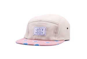 Image of Campamento 5 panel hat in Natural