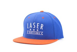 Image of Mar & Montaña Snapback Royal/Orange