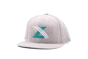 Image of Un-cross Snapback in heather grey