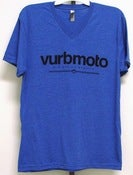 Image of Vurbmoto Vintage Royal V-Neck Tee