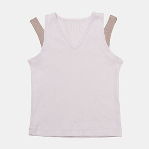 Image of V-Neck Tank - Violet+Mud