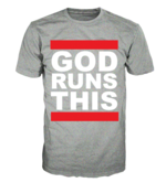 Image of GOD RUNS THIS-HEATHER GREY