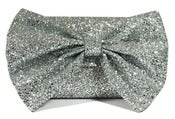 Image of Glitter Bow Clutch Bag - Sparkling Diamond