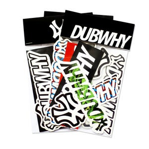 Image of 'DUBWHY / WY' - Sticker Pack