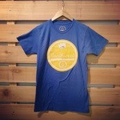 "Image of ""Crafted In The Northwest"" t-shirt- Blue"