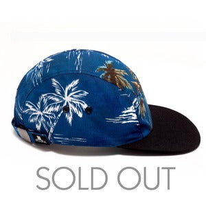 Image of MOUPIA Hawaiian Night 5 Panel Hat