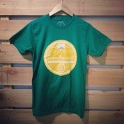 "Image of ""Crafted in the Northwest"" t-shirt- Green"