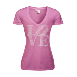 Image of Women's Love - Deep V (Pink)