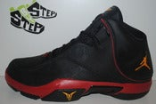 Image of Air Jordan Melo M4 Black/Taxi-Varsity Red