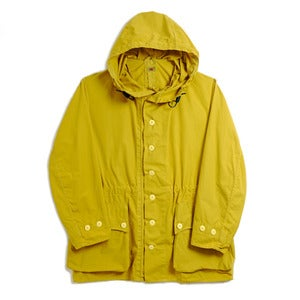 Image of ACID YELLOW SWEDISH MILITARY PARKA