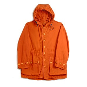 Image of ORANGE SWEDISH MILITARY PARKA