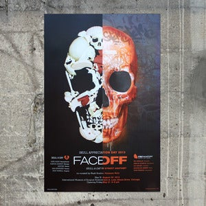 Image of FACE OFF: Skull-A-Day vs Street Anatomy Gallery Show Poster