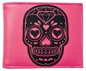 Image of Sourpuss Pink Sugar Skull Wallet