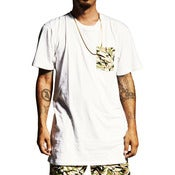 Image of ATG - CAMO POCKET TEE - (WHITE/DESERT)