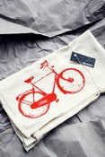 Image of Red Bike Tea Towel