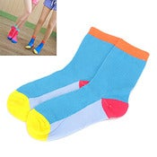 Image of Colour Block Ladies  Socks - 2 Stles
