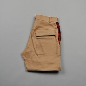 Image of DESCENDER PANTS - PONY W/ RED CHECK