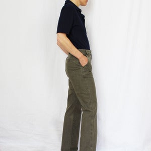Image of Pantalon Kaki en toile
