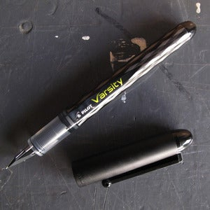 Image of PILOT VARSITY FOUNTAIN PEN BLACK (PACK OF 2)