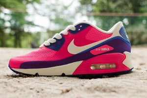 Image of Nike - WMNS Air Max 90 HYP PRM (pink/ blue)