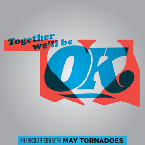 Image of SOLD OUT // Together We'll Be OK // Tree and Leaf & The Okay See collaboration benefit tee