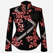 Image of Hibiscus Diamond Jacket XL