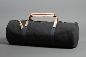 Image of Getaway Duffel - Denim w/Camo Interior