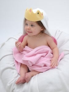 Image of Princess Hooded Towel - Infant Size