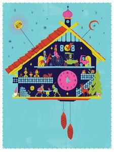 Image of Cuckoo Clock Art Print