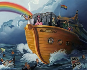 Image of Noah's Gay Wedding Cruise: MarriageEvolved Edition | prints