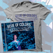 Image of Blue of Colors<br>'Small Little Pieces'<br>CD & T-Shirt (Tri-Athletic Grey)