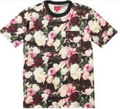 Image of NEW! Supreme NYC Floral Print Pocket T-Shirt Collection