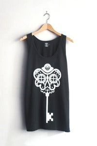 T-shirt design Skeleton Key Vest - Black
