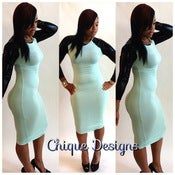 "Image of ""Mint Bodycon Dress"""