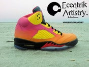 "Image of ""Tropical Nights"" Jordan V Custom"