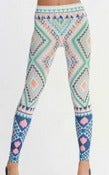 Image of Pastel Print Leggings