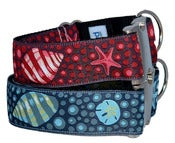 Image of Under The Sea - Dog collar in the category  on UncommonPaws.com