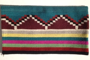 Image of 'Pyramids' Wool Cushion