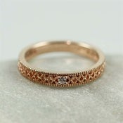 Image of Rose Gold Deco Band