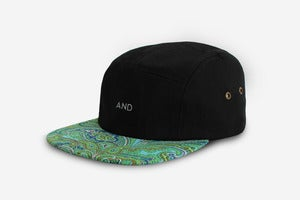 Image of Paisley AND 5 Panel Cap <em>NEW</em>