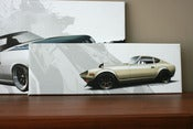 Image of Datsun 240z - small canvas print