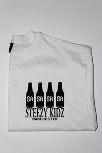 Image of Steezy Kidz 'Alcohol Bottle' Tee White