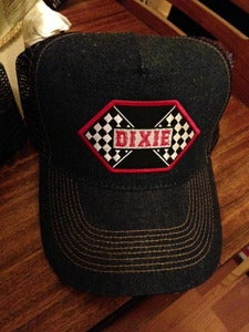 Image of Dixie Denim Patch Trucker Hat