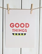 Image of GOOD THINGS