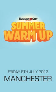 Image of Summer Warm Up (Manchester - 5th July)