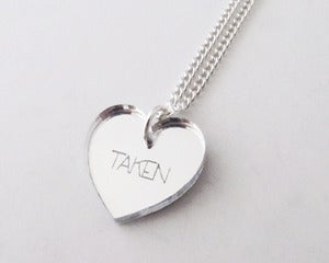 Image of Taken Necklace - Silver