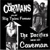 "Image of Thee Cormans/Pacifics Split 7"" IMPORT"