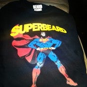 Image of BLACK SUPERBEARD TSHIRT